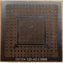 BGA трафарет 0,5mm Nvidia GK104 - 325 - A2