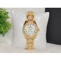 Женские часы Rolex (Ролекс) со стразами.