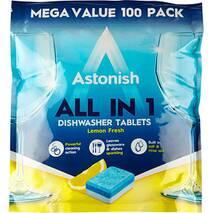 Таблетки для посудомийних машин Astonish  All in 1, 100 шт