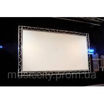 Полотно для екрану AV Screen 1 кв.м беломатовое