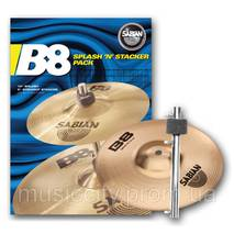 Набір тарілок для барабанів Sabian B8 Splash'n'Stacker Pack