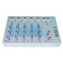 BIG MM5 ECHO пульт мікшера, 5 моно каналів