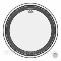 """Remo Powerstroke PR132400 прозрачный пластик 24"""" с демпферным кольцом"""