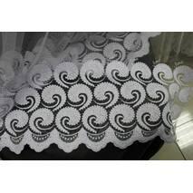 Тюль-гардина круглые завитки Rowi купить в Чернигове