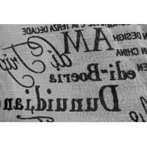 Тюль занавесь натуральная льняная газета купить в Киеве