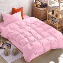 Підлітковий комплект постільної білизни Рожевий Преміум