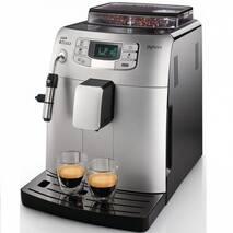 Автоматическая профессиональная кофеварка Philips Saeco Intelia Class Black Silver