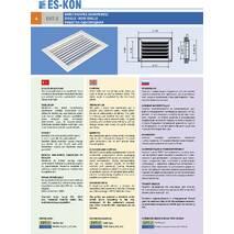 Вентиляційні решітки EMT-U