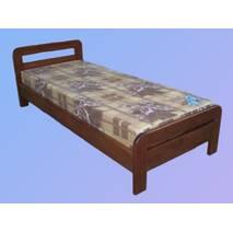 """Кровать из натурального дерева """"Модель 4"""""""