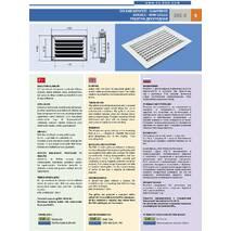 Вентиляційна решітка дворядна EMC-U