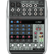 Behringer XENYX Q 802 USB пульт мікшера, 2 моно   2 стерео каналу