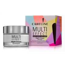 Нічний крем для обличчя та шиї Мульті ефект Careline Multi Effect Night Cream. 50 ml