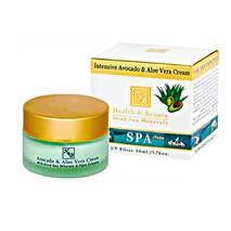Інтенсивний крем з авокадо і алоє для чутливої шкіри Health & Beauty Intensive Avocado & Aloe Vera Cream 50 мл.