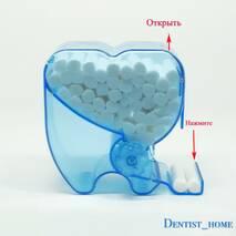 Plastic Dental Roll Type Cotton