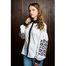 "Элегантная подростковая вышитая блуза с длинным рукавом ""Маруся"""