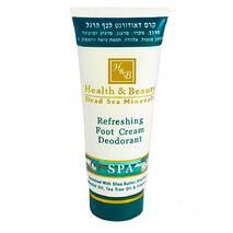 Крем-дезодорант для ніг з охолоджуючим ефектом Health & Beauty Refreshing Foot Cream Deodorant 100 мл.