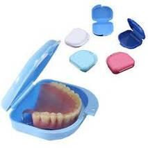 Dental Orthodontic Retainer Box Case Denture Sport Teeth Mouth