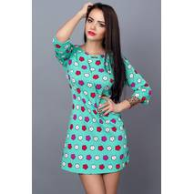 Молодіжна сукня з кольорами