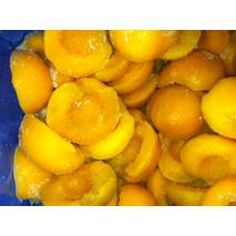Персики половинки замороженные