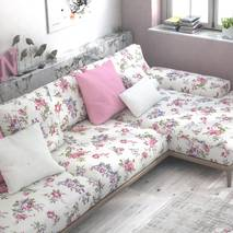 Тканина для штор подушок чохлів з кольоровими квітами