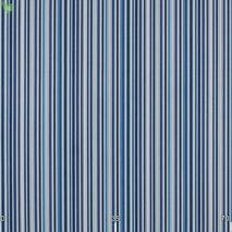 Вулична тканина для покривал і подушок смугаста з синіми і блакитними смужками акрилова Іспанія 400338v3