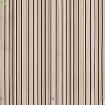 Уличная ткань с тонкими черными и коричневыми полосками на бежевом Испания 400338v5