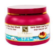 Маска для дуже сухого волосся з маслом Ши Health & Beauty Shea Butter Hair Mask 250 мл.