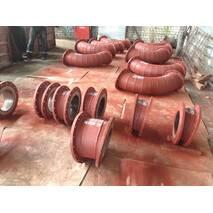 Труби футеровані базальтом для пневматичного транспортування абразивного матеріалу