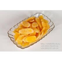 Цукати манго-пелюстки,Тайланд.Ціна за 100г