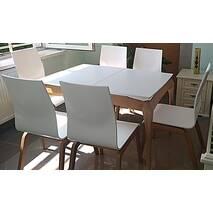 Cтильный стол Нави со стульями