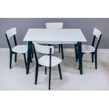 Деревянный стол Милан со стульями Топ new