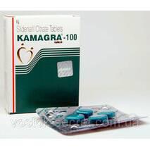Kamagra-100 Gold Cилденафил цитрат таблетки для потенции 4 таб. по 100 мг купить в Киеве