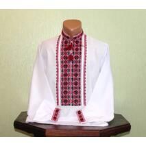 Український етноодяг. Вишита сорочка чоловіча. Ручна робота.