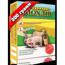 Биопрепарат для навоза, бактерии для переработки навоза БИОХЛЕВ 200 грамм