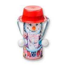 "Детский подарок тубус ""Снеговик"" 450 гр."