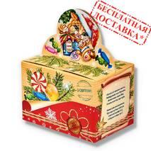 """Сладкий новогодний подарок """"Зимняя посылка"""" 930 гр."""