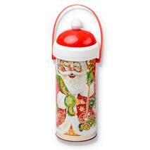 """Новогодний подарок тубус """"Дед Мороз"""" 450 гр."""