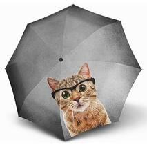 Женский зонт  Doppler Кот ART (полный автомат), арт. 746157-11
