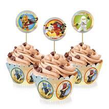 """Топперы для капкейков """" Лего Ниндзяго """", 6 шт."""