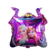 Фольгированный воздушный шарик Замок Холодное сердце  60х52 см (Китай) в упаковке