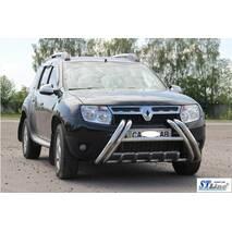 Кенгурятник WT01 (нерж.) - Renault Duster 2008-2017 гг. купить в Черновцах