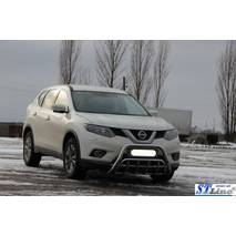 Кенгурятник WT002 (нерж.) - Nissan X-trail T32 2014+ гг. купить в Одессе