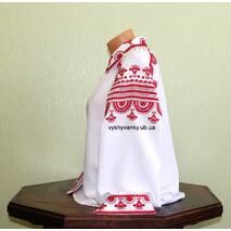 Жіноча вишиванка. Візерунок польський