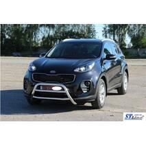 Кенгурятник WT023 (нерж) - Kia Sportage 2015+ гг. купить в Запорожье