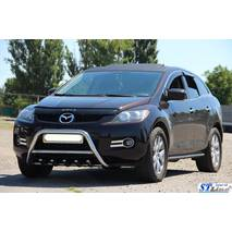 Передняя защита WT003 (нерж.) - Mazda CX-9 2007-2016 гг. купить в Ивано-Франковске