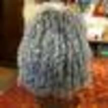 25. Меховая женская шапка (снопик на трикотаже)