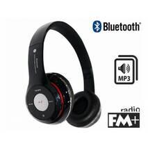 Навушники бездротові MDR S460 Bluetooth з MP3 FM AUX Micro SD Black купити в Кропивницькому