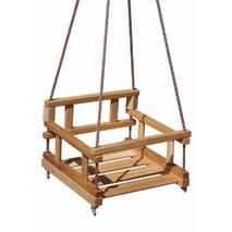 Качели деревянные Малыш эко купить недорого