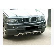 Кенгурятник WT019 (нерж.) - BMW X5 E-53 1999-2006 гг. купить во Львове
