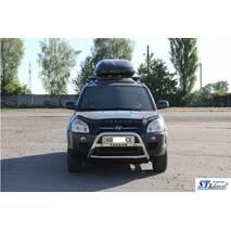 Кенгурятник WT025 (нерж.) - Hyundai Tucson JM 2004+ гг. купить в Виннице